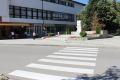 В Банско се обновяват пешеходните пътеки за предстоящата учебна година