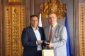 Кметът на Банско Георги Икономов се срещна с ръководителя на Ротари клуб за България
