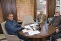 Кметът на Банско Георги Икономов се срещна с председателя на Съюза на слепите