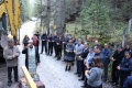 Кметът на Банско Георги Икономов и заместник-министърът на регионалното развитие Николай Нанков направиха първа копка на нов довеждащ водопровод